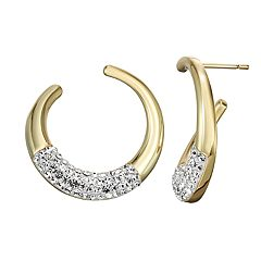379bb1137 Chrystina Crystal Hoop Earrings
