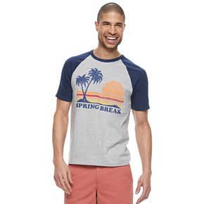 "Men's ?Family Fun ""Spring Break"" Graphic Tee"