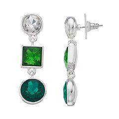 inspire NEW YORK Nickel Free Linear Drop Earrings