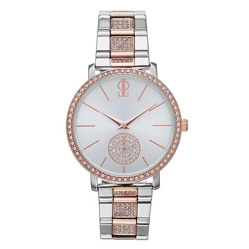 Jennifer Lopez Women's Crystal Accent Two Tone Watch - FMDJL343