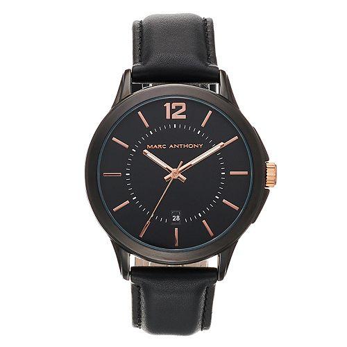 Marc Anthony Men's Leather Watch - FMDMA200