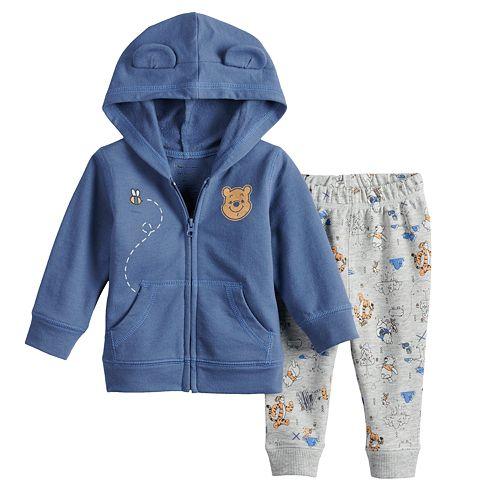 Disney's Winnie The Pooh Baby Girl Hoodie & Pants Set by Jumping Beans®