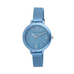 Laura Ashley Women's Glitz Spray Mesh Watch