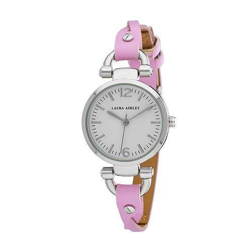 Laura Ashley Women's Twisted Band Watch