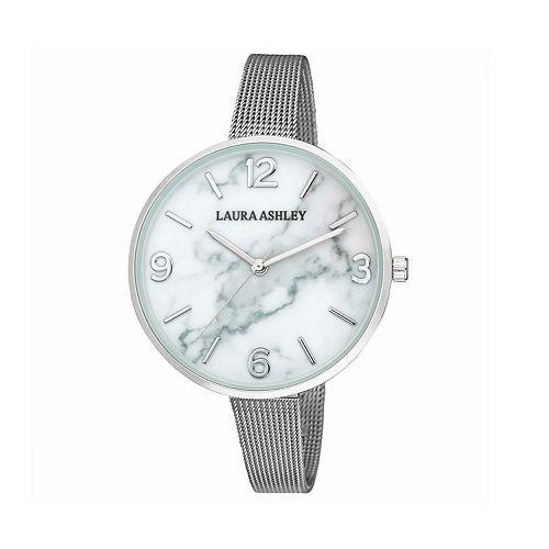 Laura Ashley Women's Marbleized Dial Watch