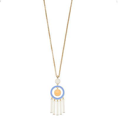 inspire NEW YORK Tassel Pendant Necklace