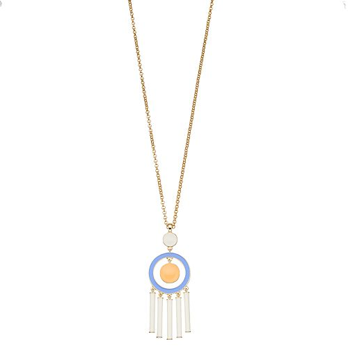 inspire NEW YORK Tassel Pendant Necklace