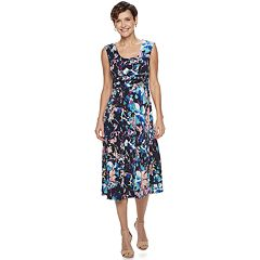 8520cb5f3b17 Women s Dana Buchman Shirred-Waist Midi Dress