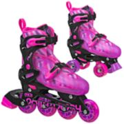 Roller Derby Flux Girls Inline & Roller Combo Skates