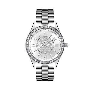 JBW Women's Mondrian Diamond Accent Stainless Steel Watch