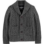 Toddler Boy OshKosh B'gosh® Shawl Collar Cardigan