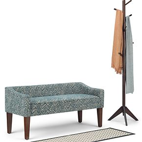 Simpli Home Parris Upholstered Bench