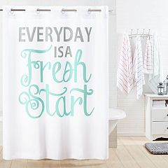 Hookless Everyday Shower Curtain & Liner
