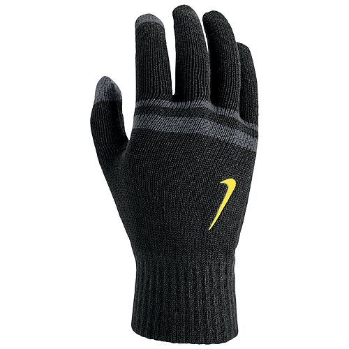 Men's Nike Striped Touchscreen Grip Gloves