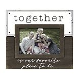 "New View ""Together"" Enamel Plank Frame"