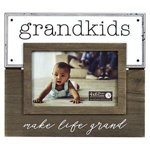 "New View ""Grandkids"" Enamel Plank Frame"
