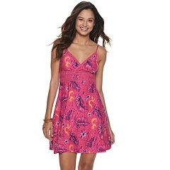 Juniors' Mudd® Floral Print Dress