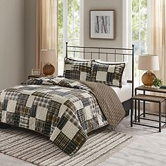 Madison Park Heavenly Reversible Printed Coverlet Set