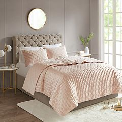 Madison Park Kellie Reversible Quilted Coverlet Set