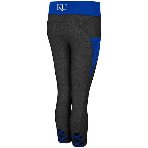 Women's Kansas Jayhawks Wallflower Capri Leggings