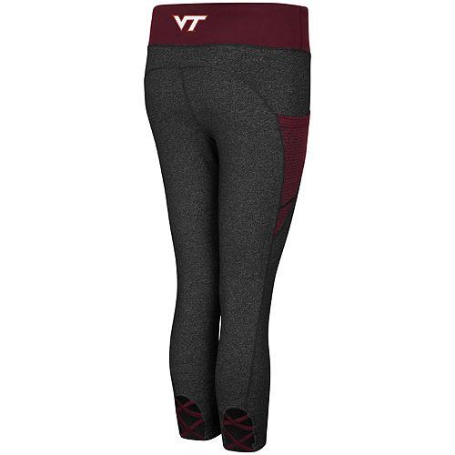 Women's Virginia Tech Hokies Wallflower Capri Leggings