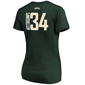 Women's Milwaukee Bucks Giannis Antetokounmpo Player Tee
