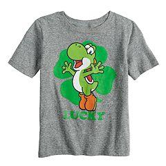 Boys 4-12 Jumping Beans® Super Mario Bros. Yoshi 'Lucky' Graphic Tee