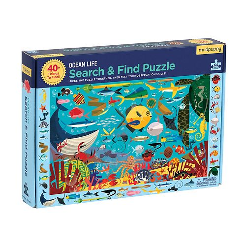 Search & Find Ocean Life Puzzle