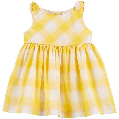 Baby Girl OshKosh B'gosh® Plaid Dress