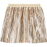 Girls 4-14 Carter's Metallic Pleated Skirt