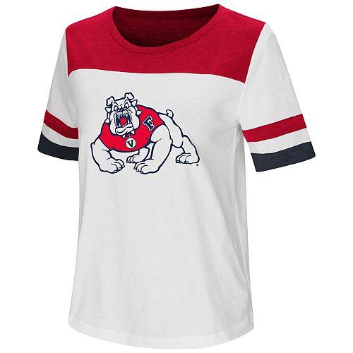Women's Fresno State Bulldogs Varsity Tee