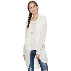 7b9b81ed7f6 Juniors  American Rag Long Cardigan