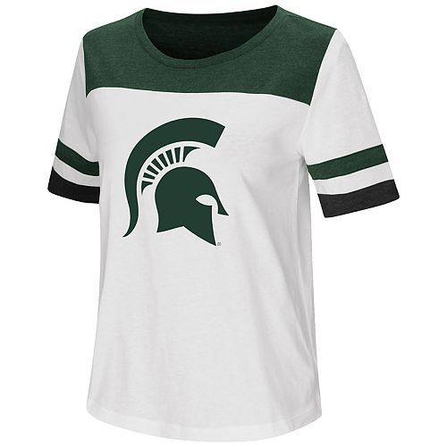 Women's Michigan State Spartans Varsity Tee