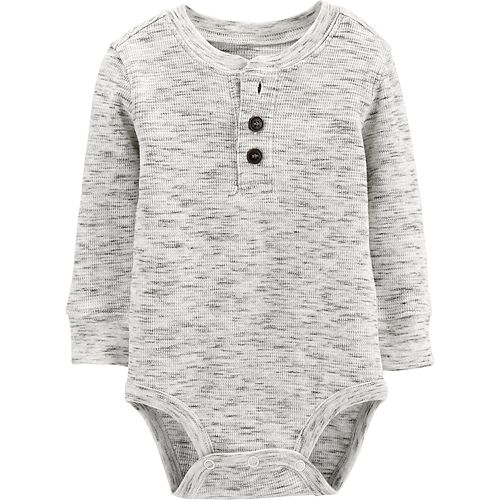 Toddler Boy OshKosh B'gosh® Thermal Henley Bodysuit