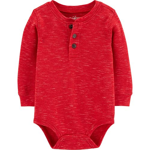 Toddler Boy OshKosh B'gosh® Thermal Henley Bodysuit