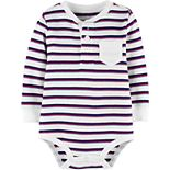 Toddler Boy OshKosh B'gosh® Striped Thermal Bodysuit