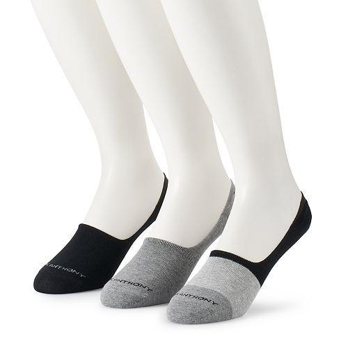 Men's Marc Anthony 3-Pack Colorblock No-Show Socks