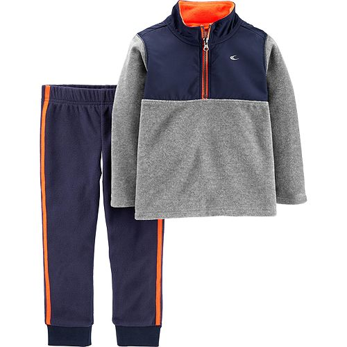 Baby Boy Carter's 2-Piece Fleece Pullover & Joggers Set