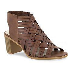 Easy Street Angel Women's Block Heel Sandals