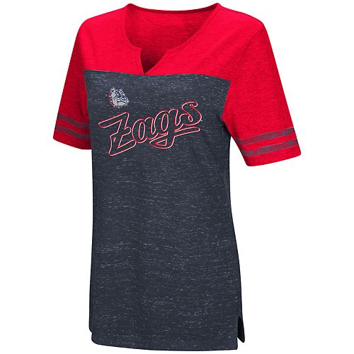 Women's Gonzaga Bulldogs On A Break Tee