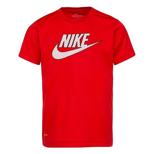 Boys 4-7 Nike Mesh Logo Graphic Tee