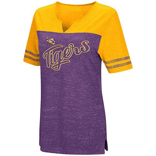 Women's LSU Tigers On A Break Tee