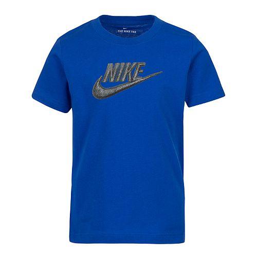 Boys 4-7 Nike Logo Graphic Tee