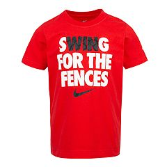 Boys 4-7 Nike 'Swing For The Fences' Logo Graphic Tee