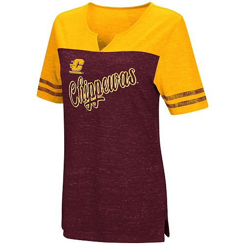 Women's Central Michigan Chippewas On A Break Tee