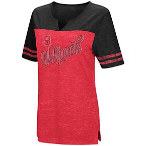 Women's North Carolina State Wolfpack On A Break Tee