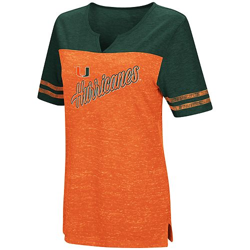 Women's Miami Hurricanes On A Break Tee