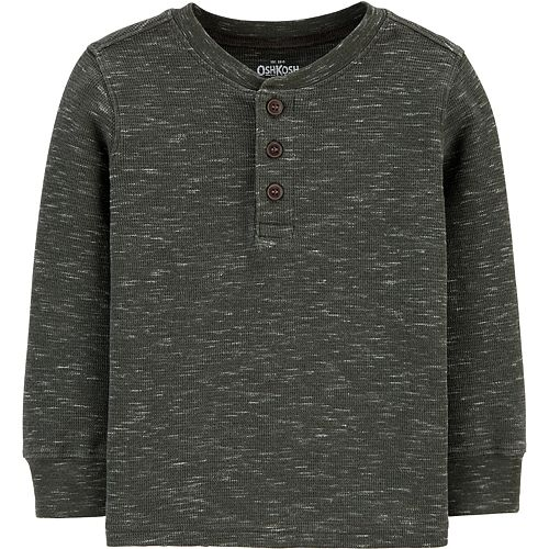 Toddler Boy OshKosh B'gosh® Thermal Henley Tee