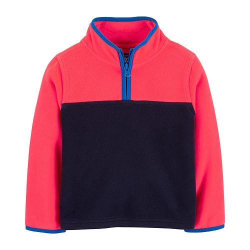 Toddler Boy Oshkosh B'gosh® Colorblock B'gosh Cozie Fleece