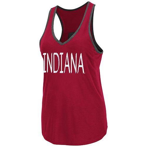Women's Indiana Hoosiers Tulip Tank Top